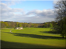 SE3238 : Sports ground, Roundhay Park by Richard Vince