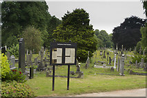 SK3736 : Nottingham Road Cemetery by Malcolm Neal