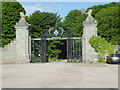 NJ7808 : Ornamental gateway to the Dunecht House Estate by Stanley Howe
