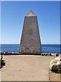 SY6768 : Trinity House Obelisk at Portland Bill by David Dixon