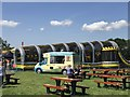 SJ4956 : Ice-cream van at Bolesworth by Jonathan Hutchins