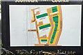 TQ3277 : Southwark Council's plan of the Gateway Estate, Walworth, South London by Robin Stott