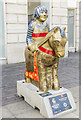 SK9771 : Lincoln Knights' Trail - The Golden Knight by Julian P Guffogg
