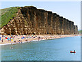 SY4690 : East Cliff, West Bay by David Dixon