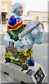 SK9770 : Lincoln Knights' Trail - Lincolnshire spirit and loving embrace by Julian P Guffogg