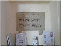 TM3787 : Ilketshall St. Andrew War Memorial by Adrian S Pye