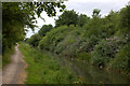 TQ0380 : Grand Union canal path near Iver by Robert Eva