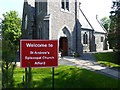 NJ5716 : St Andrew's Episcopal Church, Alford by Stanley Howe