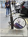 NZ2464 : Advertising bike on Grey Street by Oliver Dixon