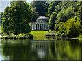 ST7733 : Stourhead Gardens, Lake and Pantheon by David Dixon
