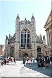 ST7564 : Bath Abbey frontage by John Winder