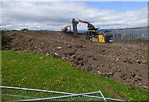 NS3274 : Coronation Park construction site by Thomas Nugent