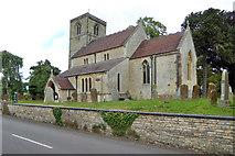 SP4068 : Marton church by Robin Webster