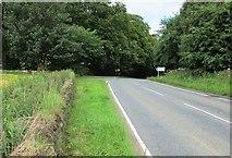 NO2706 : Minor road to Purin Hill car park, Lomond Hills by Bill Kasman