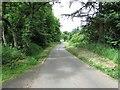 NO2605 : Minor road to Purin Hill car park, Lomond Hills by Bill Kasman