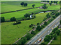 NS4666 : The M8 motorway from the air by Thomas Nugent