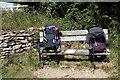 ST7168 : Bench at Prospect Stile by John Winder