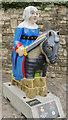 SK9771 : Lincoln Knights' Trail - Sheriff De La Haye by Julian P Guffogg