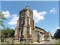 SP9624 : Stanbridge, St John the Baptist by Dave Kelly