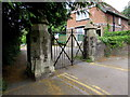 ST2987 : An entrance to St Woolos Cemetery, Newport by Jaggery