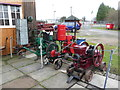 SK2625 : Claymills Victorian Pumping Station - internal combustion engines by Chris Allen