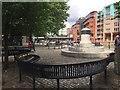 ST5872 : War memorial to merchant ships and seamen, Welsh Back, Bristol by Robin Stott