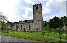 SP1106 : Bibury, St. Mary's Church by Michael Garlick