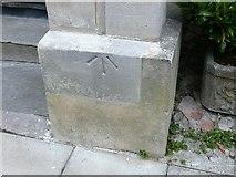 ST5773 : Rivet bench mark, 20 Vyvyan Terrace, Clifton Park by Alan Murray-Rust