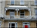 ST5773 : Balcony, 5 Lansdown Place, Clifton by Alan Murray-Rust