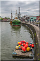 ST5872 : Buoys on a raft by Ian Capper