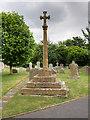 SP0846 : Churchyard Cross, St Nicholas' Churchyard by David Dixon