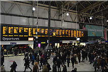 TQ3179 : Concourse, Waterloo Station by N Chadwick