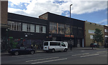 ST5973 : Two black-painted shops to let, Stokes Croft, Bristol by Robin Stott
