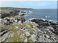 HU5486 : Rocky Coast North of Salt Wick by Des Blenkinsopp