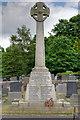 SJ8959 : War Memorial in St Lawrence's Churchyard by David Dixon