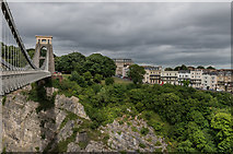 ST5673 : Clifton Suspension Bridge and Sion Hill by Ian Capper