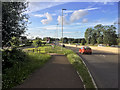ST9175 : A350 near Kington Park by David Dixon