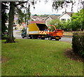 ST3090 : Council lorry and shredder, Laurel Crescent, Malpas, Newport by Jaggery