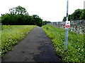 H4572 : Pathway between Dublin Road and Crevenagh Road, Omagh by Kenneth  Allen