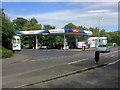 ST8623 : Tesco Fuel Forecourt, Shaftesbury by David Dixon