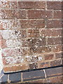 SP2388 : OS benchmark - Maxstoke, former schoolhouse by Richard Law