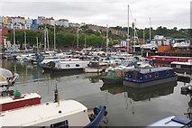ST5772 : Bristol Marina by Stephen McKay