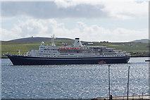 HU4841 : Marco Polo in Bressay Sound by Ian S