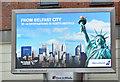 J3373 : Icelandair advertisement, Belfast (June 2017) by Albert Bridge