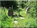 SK0144 : Gateway and sleeper on the Woodhead Tramroad by Ian Calderwood