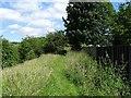SK0144 : Woodhead Tramroad embankment by Ian Calderwood