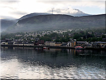 NN1073 : Fort William, Cow Hill and (almost) Ben Nevis by David Dixon