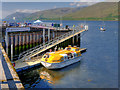 NN0973 : Cruise Tender at Fort William Pier by David Dixon
