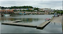 ST5772 : Bristol Floating Harbour by Alan Murray-Rust