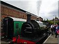 TQ5738 : Steam Engine, Tunbridge Wells West by Paul Gillett